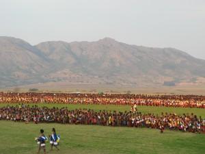 Свазиленд, шеренга