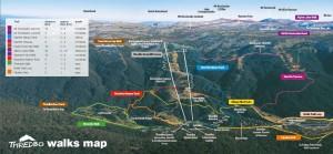 маршрут восхождения на Костюшко