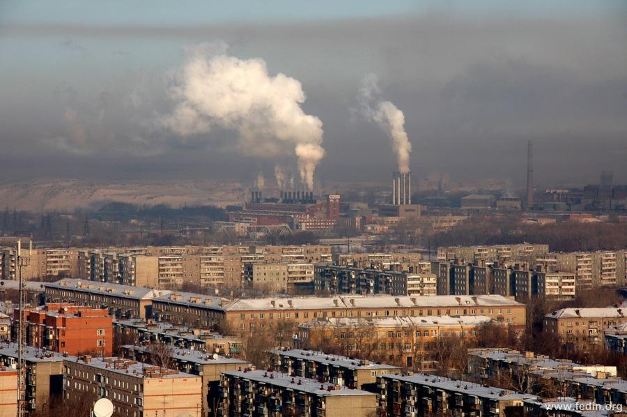 Челябинск дымит