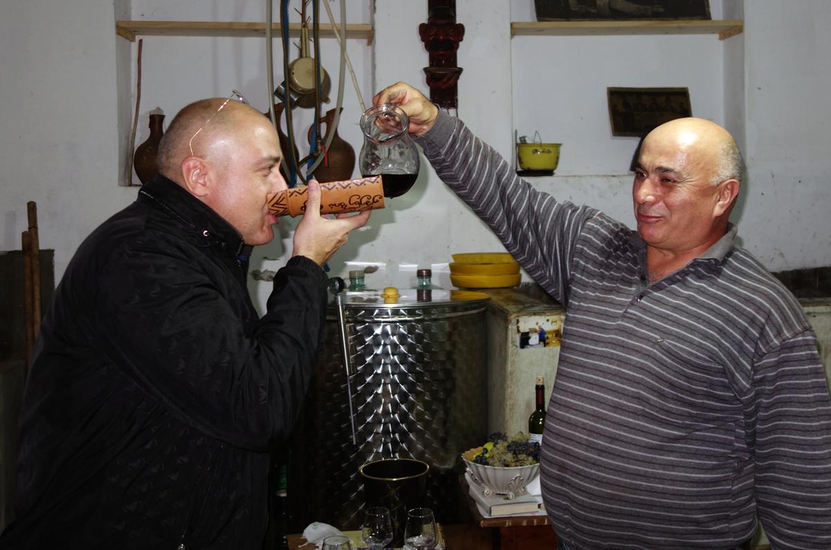 Дегустация вина Грузия