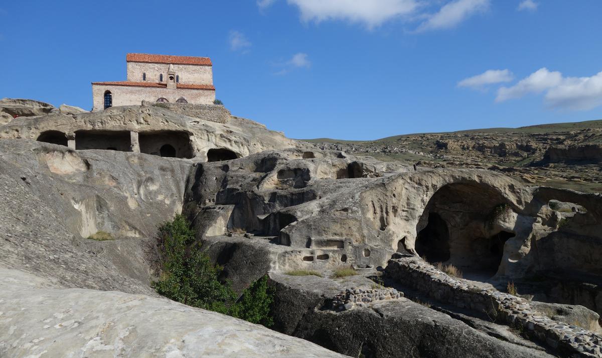 Пещерный город Уплисцихе, Грузия.