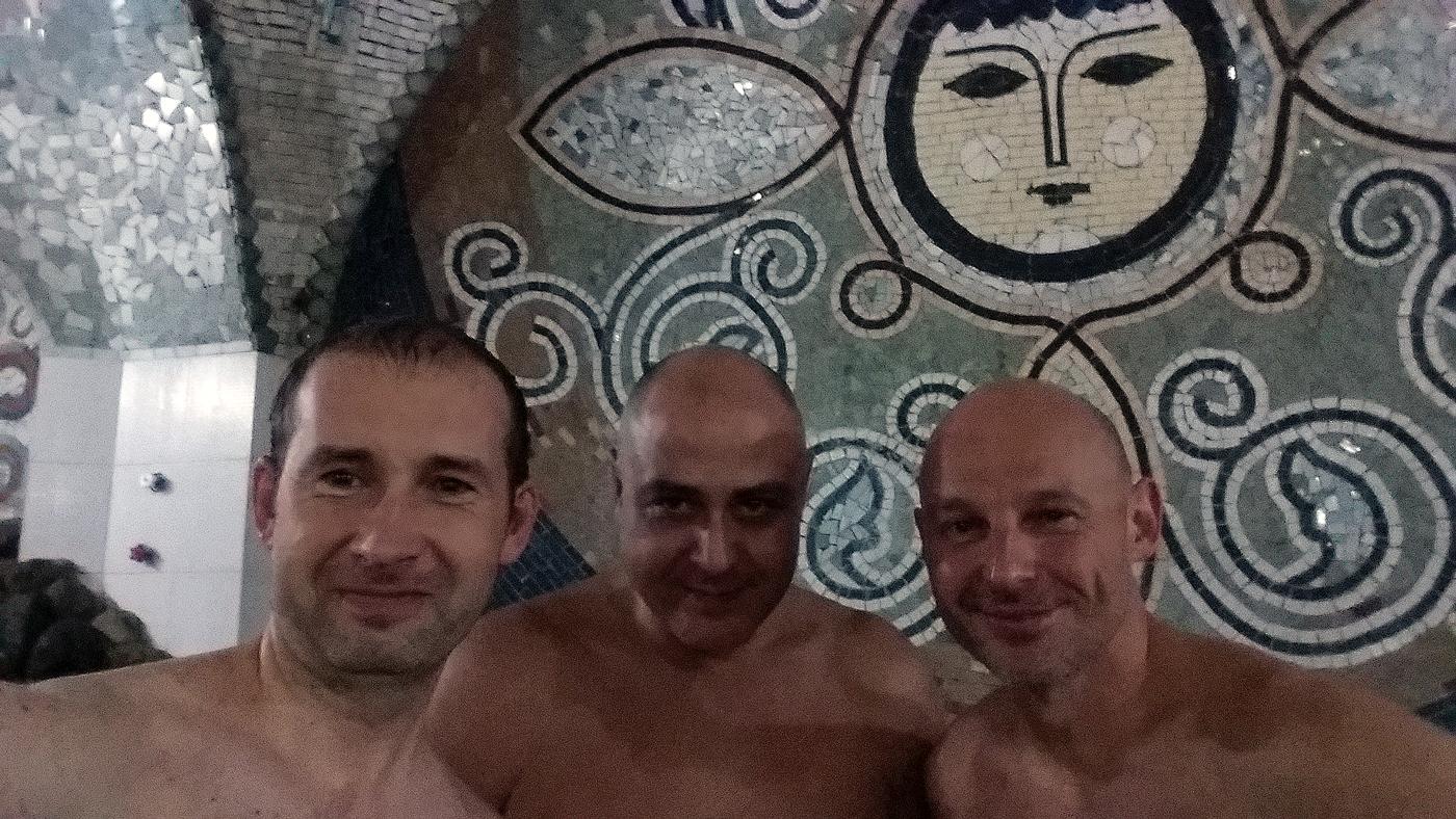 В бане номер пять в Тбилиси