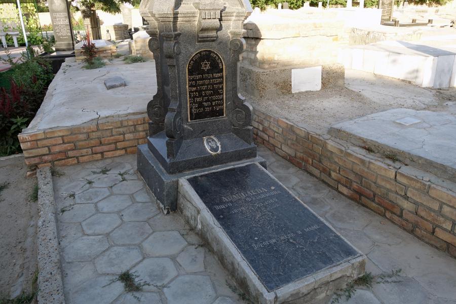 еврейское кладбище в бухаре