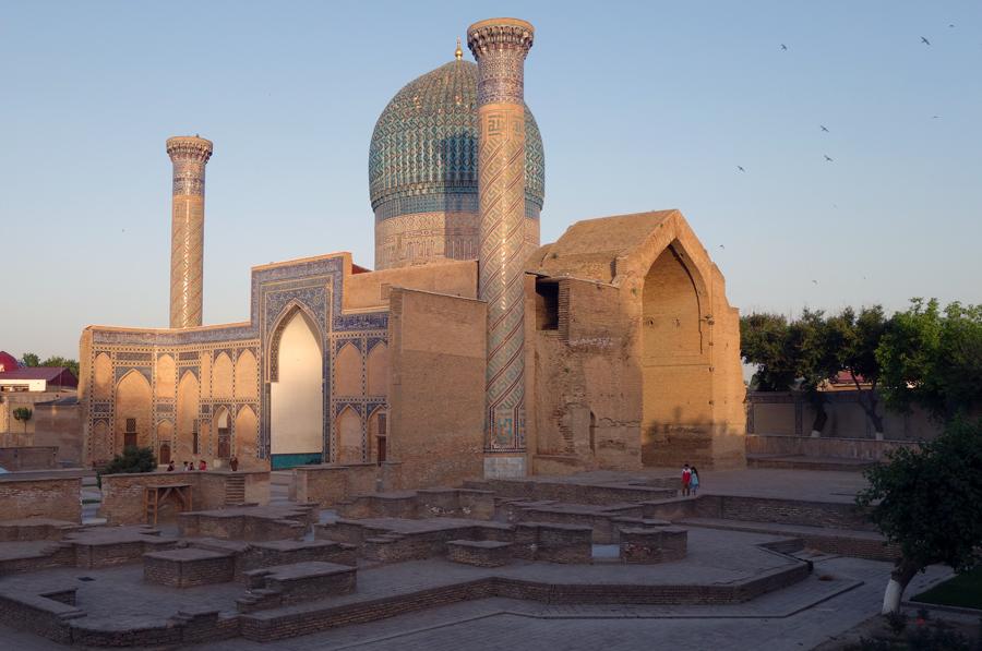 мавзолей Гур-эмир, гробница Тамерлана
